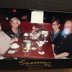 Celebrating our anniversary with friends at Seasons 52