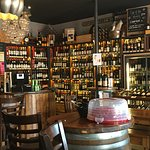 The wine merchant section