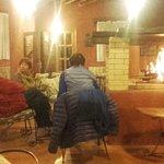 Un feu de cheminée réconfortant!