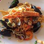 Spagetti Meeresfrüchte (Scol io)