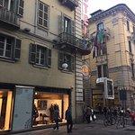 Balcony @ Le Petit Hotel, Turin