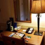 Information/Coffee Maker on the Desk