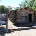 "1870s-era cabin like Billy the Kid's donated by director Ron Howard (from ""The Missing"")"