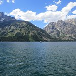 Jenny Lake Shuttle and view