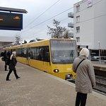 シュツットガルトの交通システムは市内を縦横に・・・