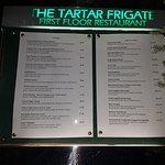 The Tartar Frigate Restaurant