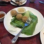 Deep fried dace fish balls