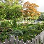 The garden at the McFarland House, Niagara-on-the-Lake