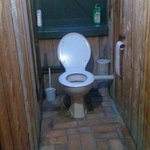 The downstairs toilet