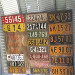 License Plates, Japanese American Resource Center/Museum, San Jose, CA