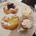 Pastries and non sugar dessert