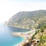 Monterosso al Mare from up high