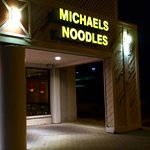 Michaels Noodles at Night