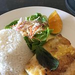 Grilled Poulet Fish