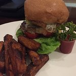 The Beef Burger with Kumala Chips