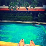 Poolside is bliss.. I'll always hang here with Bakung Sari and its staff..