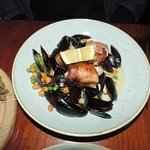 Pescatrice - monk fish/mussels