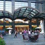 Lobby garden area