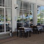 окна ресторана отеля