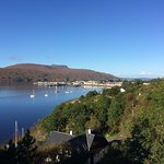 The Beautiful Town Of Ullapool from our room