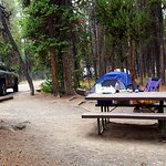 Campsite, Parking was Parallel Park and was large