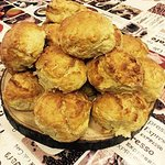 Fresh homemade scones every morning
