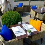 Terras restaurant La Vie