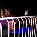Balkonaussicht, Nachts- Maxx Spa Suite