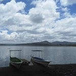 Boat rides available at Lake Oloiden, a few metres away from the lodge