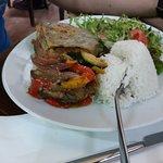 Tartare de bœuf, manchego grillé