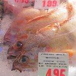 Fresh fish in case