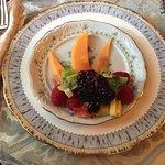 Bird of Paradise Fruit Plate