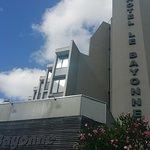 Vue de l'hôtel coté avenue Jean Rostand
