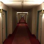 Dated hallway