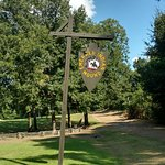 Emerald Mound Sign from the Road