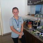 Jasmine, Trainee restaurant waitress