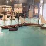 Model of 1812 ship batlle