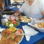 Mixed sea food dish delish!!!