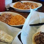 Lunch at Frijoles