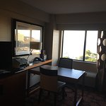 These are photos was the breakfast buffet ,the great room and the nice view from my room to the