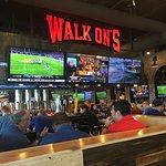 Walk-On's Bar Area