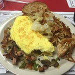 Sailor Joe Omelet at Hometown Diner