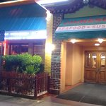 entrada do restaurante
