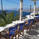 Schöne Terrasse mit Meerblick......