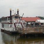 The Virginia Dare cruise boat.