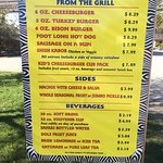 Concession prices are quite reasonable