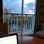 poor excuse for an uncharge ocean view?