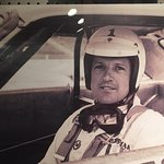 There are many photos and lots of information and displays about the history of racing.