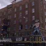 The vintage Hotel Nevada - Ely, NV