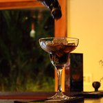 El momento en que Jorge, el bar tender nos prepara un cóctel!